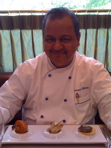 Lunch with Chef Hemant Oberoi