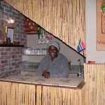 Nomode Siyaka of Mzansi restaurant in Langa