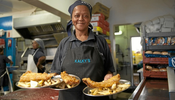 Gadija at Kalky's. Photo: David Harrison.